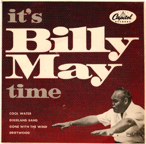 BILLY MAY It's Billy May Time Vinyl Record 7 Inch EP Capitol 1956